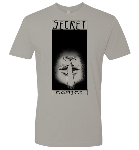 Secret Comics -- Official Logo T-shirt - crypto.fashion