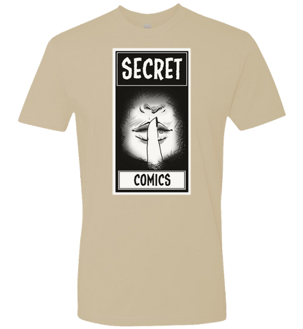 Secret Comics -- Lips Logo Tee - crypto.fashion