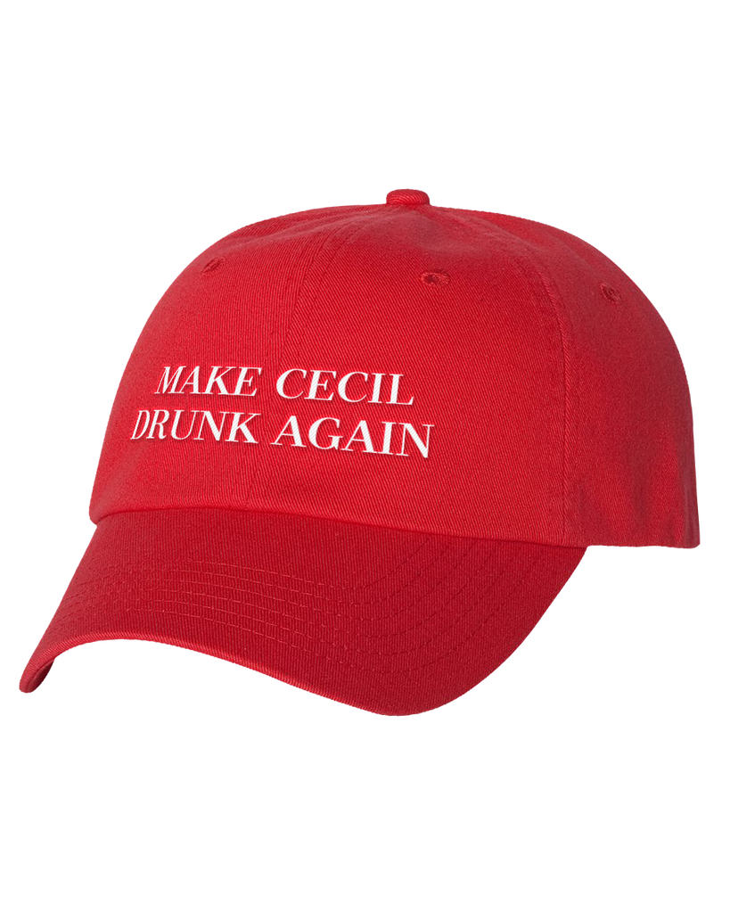 CECIL -- MAKE CECIL DRUNK AGAIN Cap - crypto.fashion