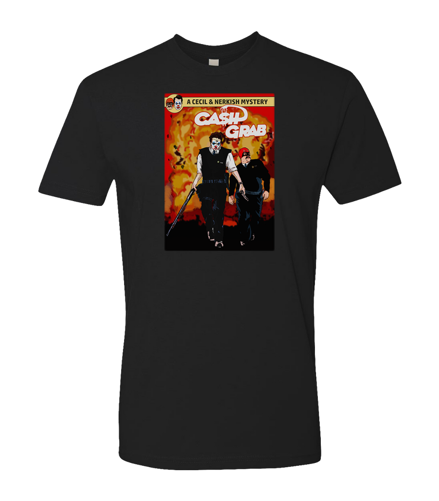 Cecil--Official Cash Grab Cover Tee - Cecil - crypto.fashion - order now