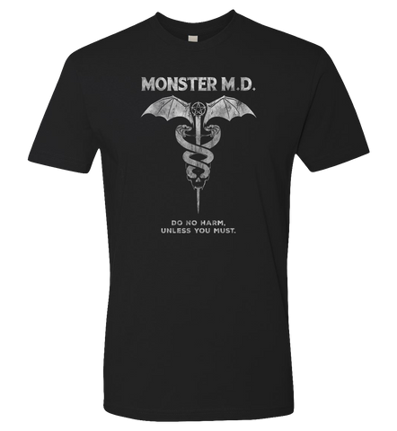 Rise Again -- Monster MD Do No Harm Tee - crypto.fashion