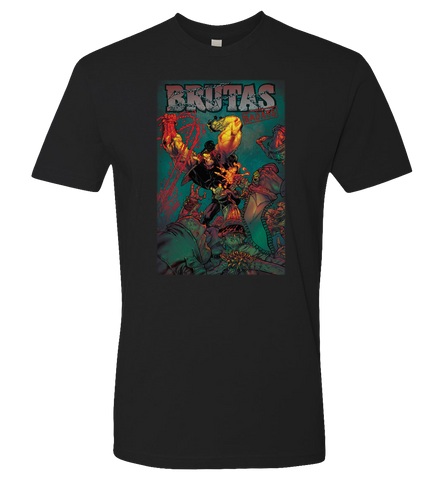 Donal T Delay: BRUTAS THE BADASS Tee - DONAL - crypto.fashion - order now