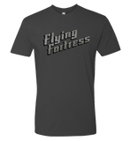 Eric Weathers -- Flying Fortress Logo Tee - crypto.fashion