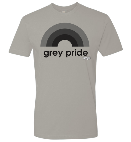 The Quartering -- Grey Pride T-shirt