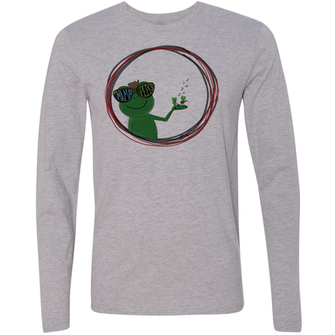 the Mamas & the Pepes Official Long Sleeve Tee - crypto.fashion