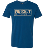 crypto.fashion -- Pinochet Is My Copilot T-shirt DISCONTINUED - crypto.fashion