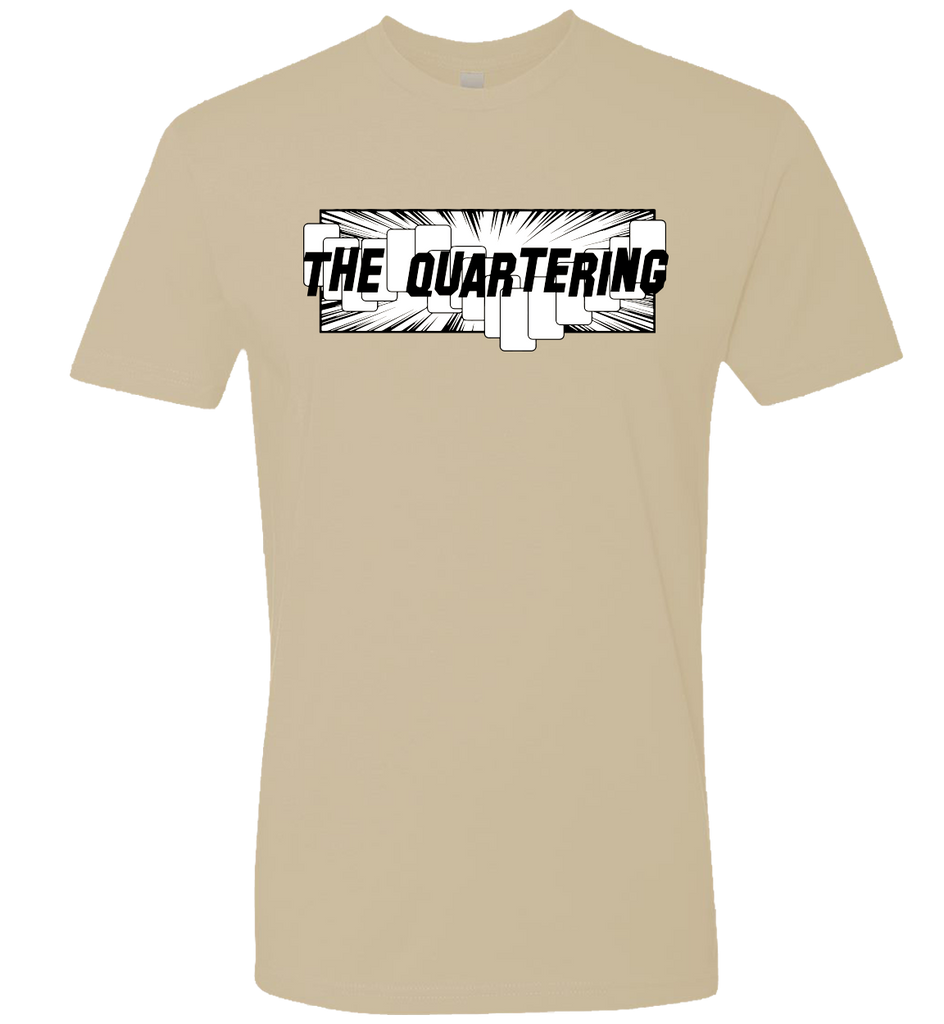 The Quartering -- Official Logo Tee - crypto.fashion