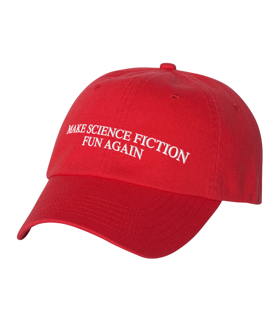 Make Science Fiction Fun Again Cap - JDA - crypto.fashion - order now