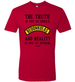 REDONKULAS -- The Truth Is Not An Insult T-shirt - Redonkulas - crypto.fashion - order now