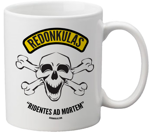 REDONKULAS -- Ridentes ad Mortem Coffee Mug - Redonkulas - crypto.fashion - order now