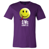 DLD -- SJWs Always Lie Official T-shirt - Dark Lord Designs - crypto.fashion - order now