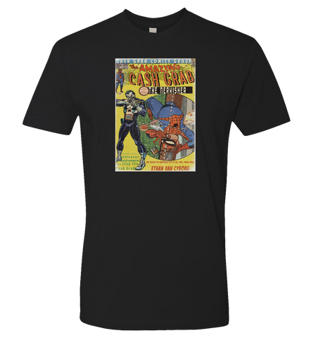 CECIL -- The Amazing Cash Grab Spidercecil T-Shirt - Cecil - crypto.fashion - order now