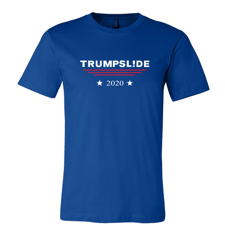 Trumpsl!de 2020 T-shirt or Ladies' V-Neck - Dark Lord Designs - crypto.fashion - order now