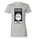 Secret Comics -- Lips Logo Tee