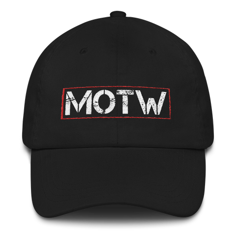Official Men of the West Low Profile Cap - crypto.fashion
