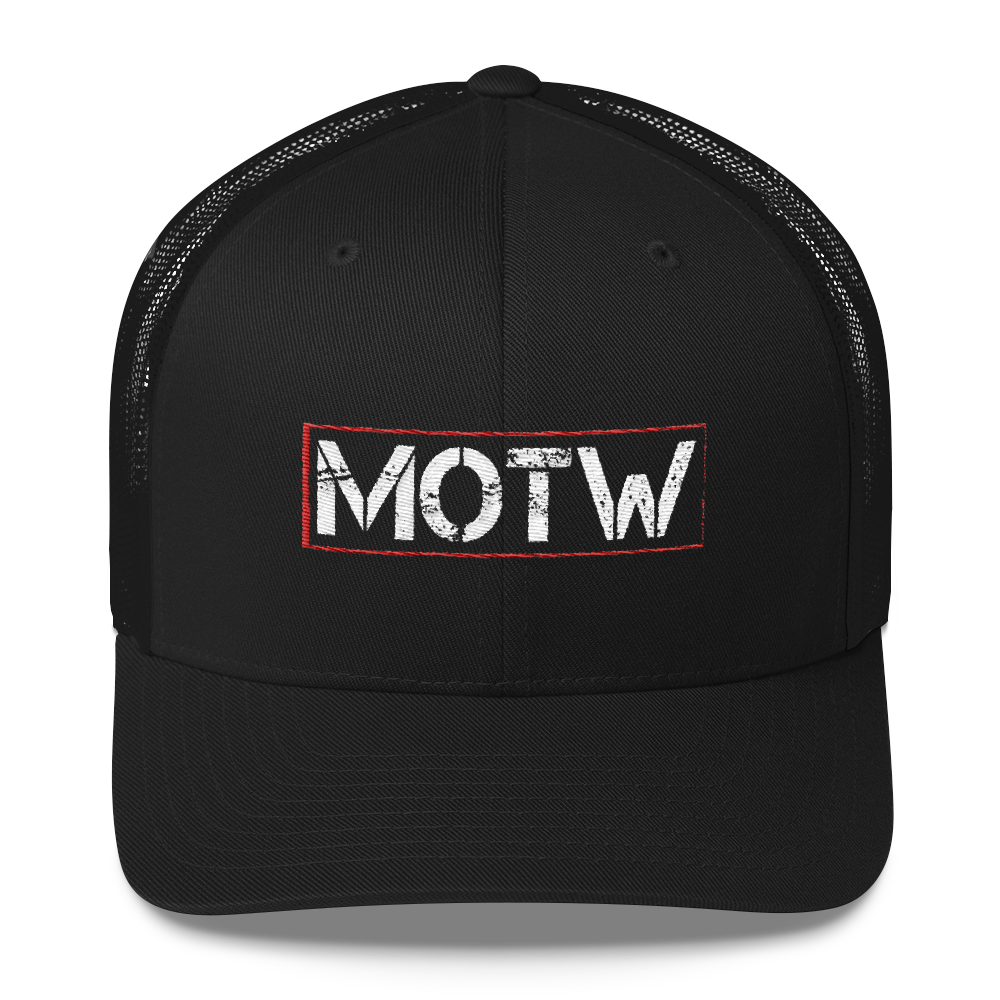 Men of the West -- Official Trucker Cap - MOTW - crypto.fashion - order now