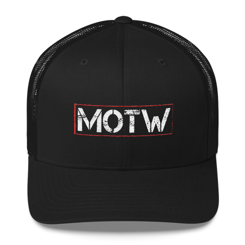 Official Men of the West Trucker Cap - crypto.fashion