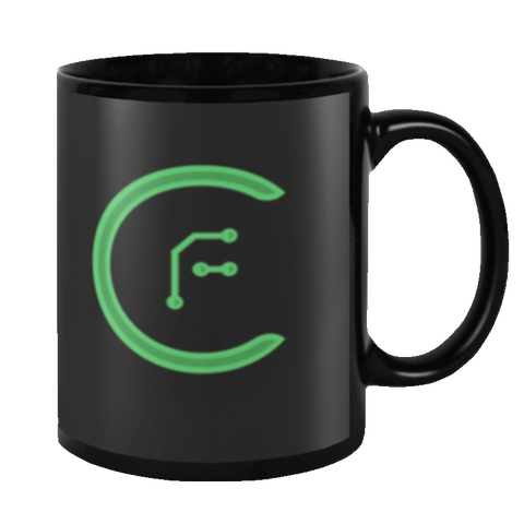 crypto.fashion Official Logo Mug - crypto.fashion