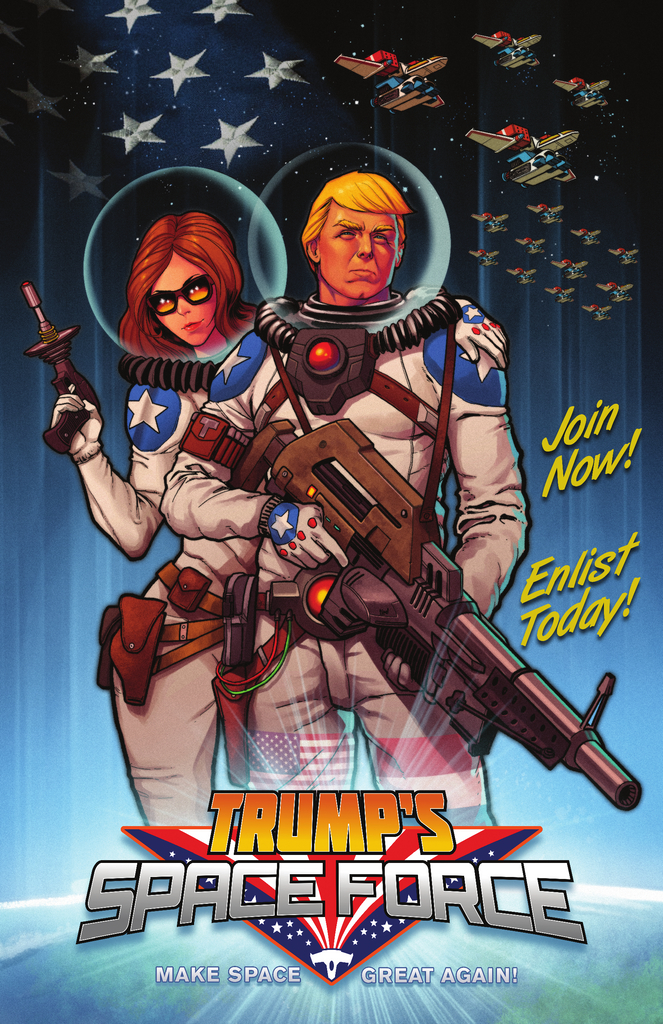 Space Force -- Official Poster - Space Force - crypto.fashion - order now