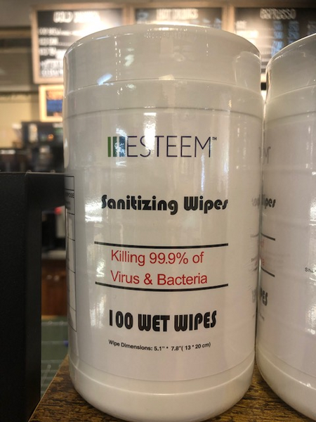 ESTEEM Sanitizing Wipes