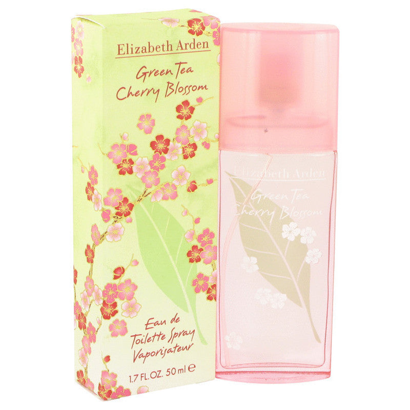 Green Tea Cherry Blossom By Elizabeth Arden  Eau de Toilette For Women_3.3