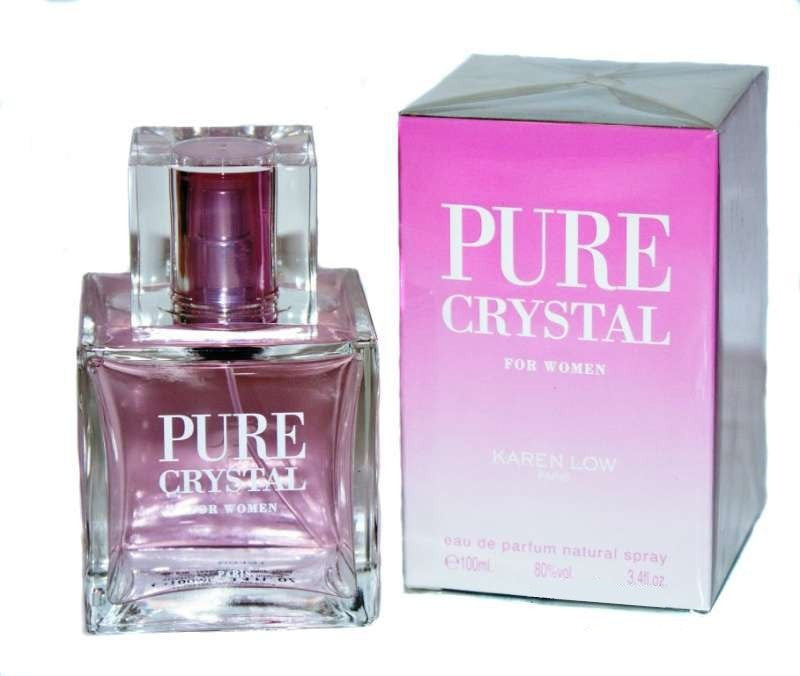 PURE CRYSTAL by Karen Low  Eau de Parfum for Women_3.4