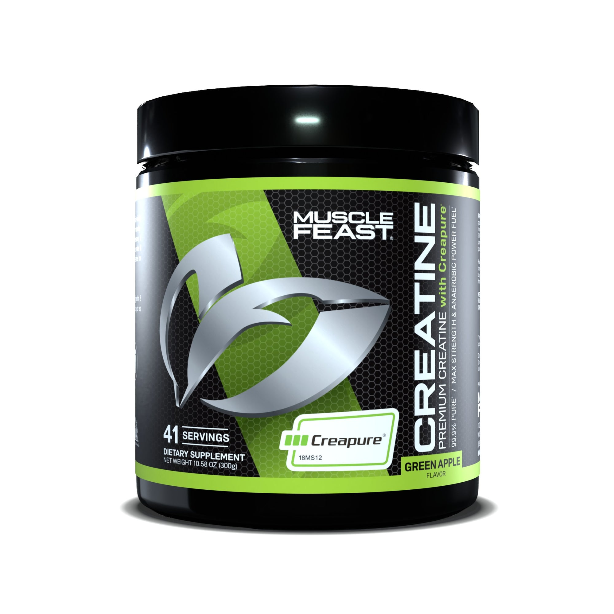 Creapure® Creatine Monohydrate by MUSCLE FEAST®