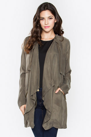 Olive jacket SOLD OUT