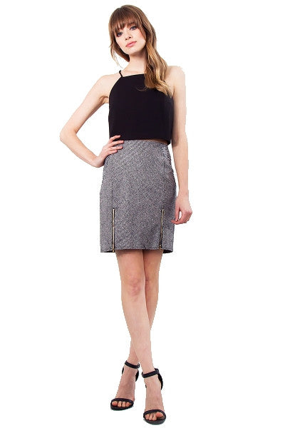 Tweed pencil skirt SOLD OUT