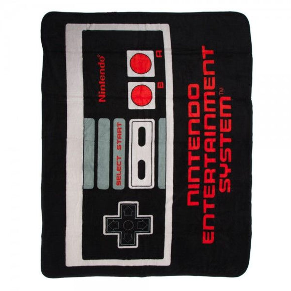 Nintendo - Retro NES Controller Throw Blanket