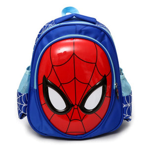 2019 Children spiderman Backpacks Super heroes New School Bag 3D stereo Baby Boys Backpack Kids Children Cartoon School Bags|Backpacks