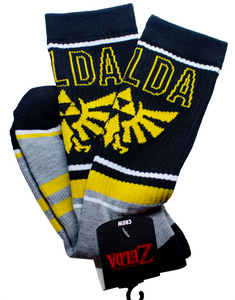NINTENDO - The Legend ZELDA - Crew Mens Socks