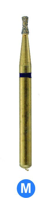 GA9  G806/010 Dentalree GOLD PLATED premium multi-use Diamond Burs