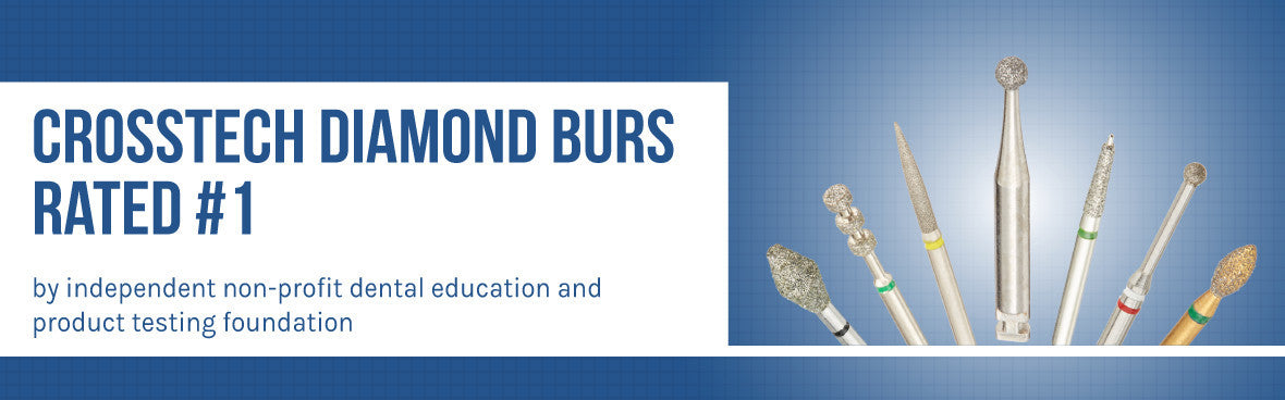 Crosstech Diamond Burs Rated #1