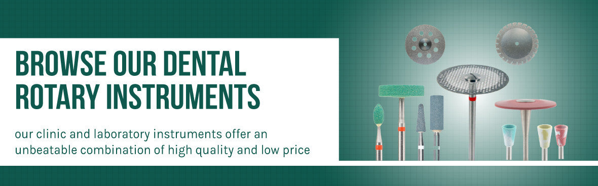 Browse our Dental Rotary Instruments
