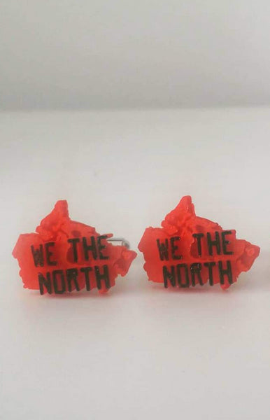 We The North Canada Silhouette 3D Cufflinks