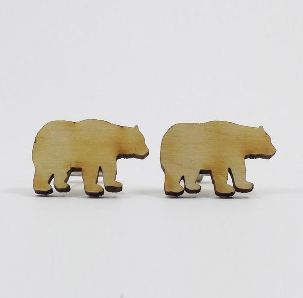 Bear Silhouette Cufflinks