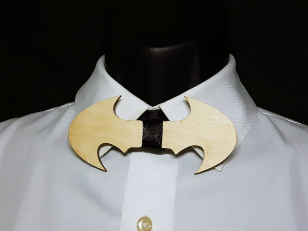 Batman Wood Bowtie