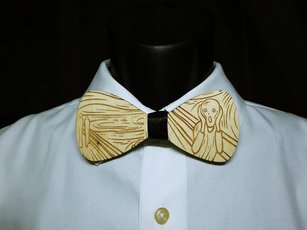 Scream Wood Bowtie