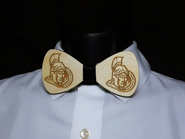 Senators Wood Bowtie