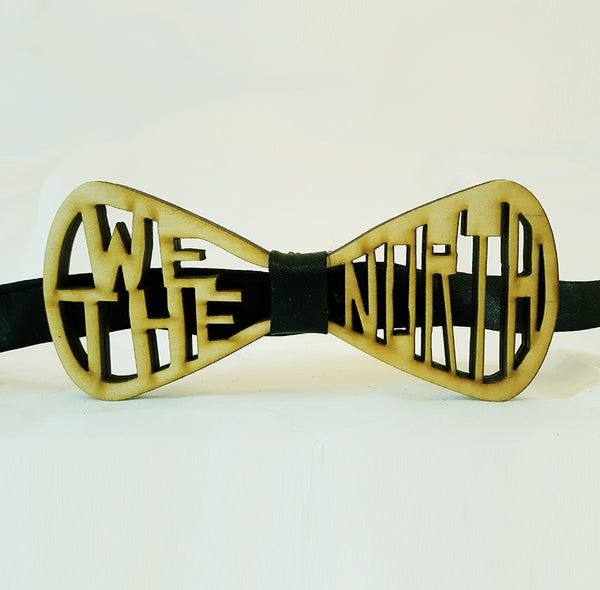 We the North Wood Bowtie