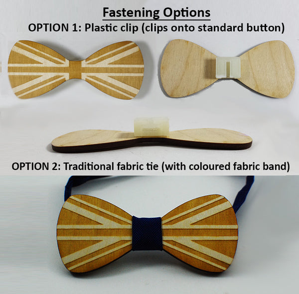 Marriage - Woman-to-Woman Wood Bowtie