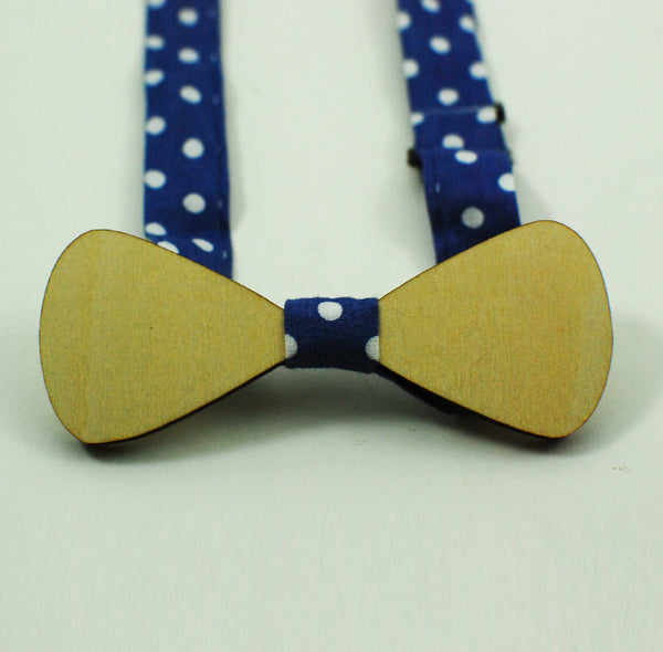 Miniature Wood Bowtie