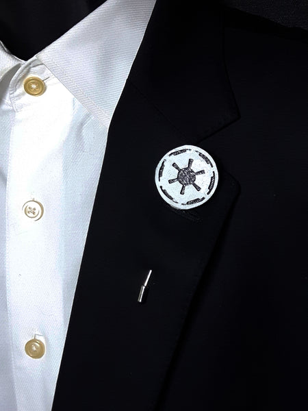 Galactic Empire 3D Lapel