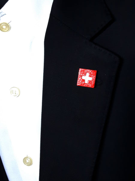 Switzerland Flag 3D Lapel