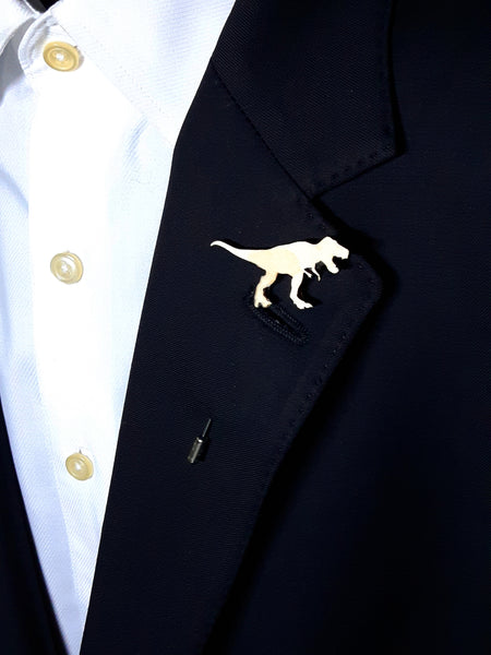 T-Rex Wood Lapel
