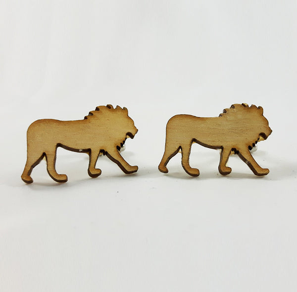 Lion Silhouette Cufflinks