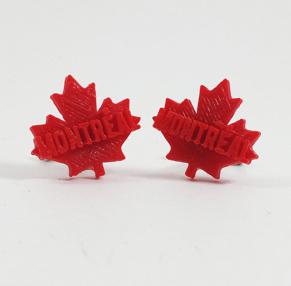 Maple Leaf 'Montreal' Cufflinks