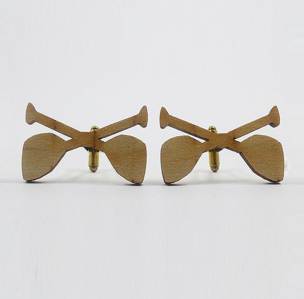 Paddle Silhouette Cufflinks