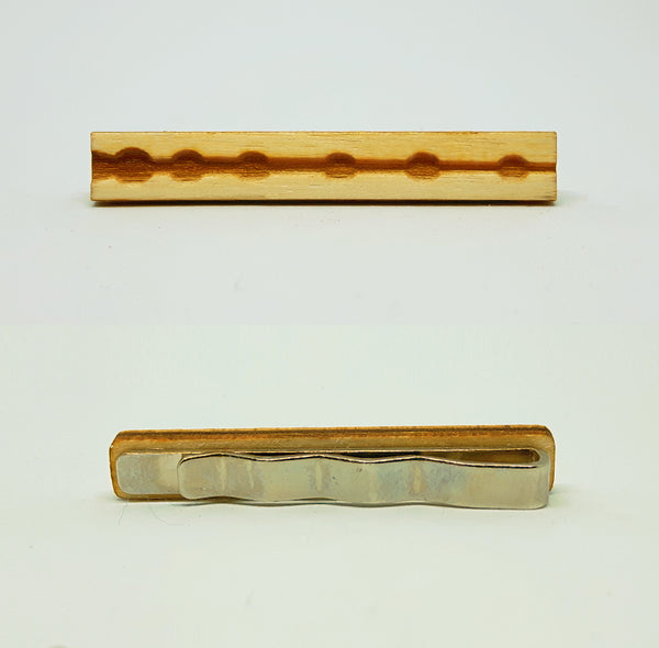 Elder Wand Wood Tie Bar